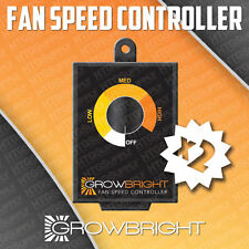 2 pc FAN SPEED CONTROL Air inline duct Variable Speedster Controller acsc bully