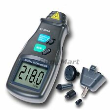 Non-Contact Digital LASER Photo 2in1 Tachometer 99,999 RPM Meter Tester Measurer