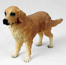 GOLDEN RETRIEVER DOG Figurine Statue Hand Painted Resin Gift Pet Lovers