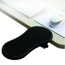Black PC Computer Laptop Arm Wrist Rest Desk Table Pad Support Forearm Armrest S