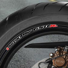 SUZUKI SV R 650 WHEEL RIM STICKERS  DECALS SVR