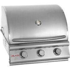 Blaze 25 Inch 3 Burner Built In Grill 134-BLZ-3-LP  WE WILL BEAT ANY PRICE!!!!