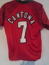 Manchester United Cantona 1996-1998 Home Football Shirt Adult Medium /40960