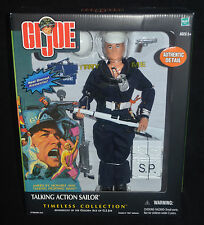 GI JOE Talking Action SAILOR w Heavy Weapons Timeless Collection MIP