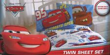 Disney PIXAR Cars 2 Twin Sheet Set Lightning McQueen