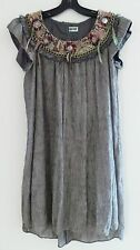 Project Runway Designer JERELL SCOTT Gray Aztec Snakeskin Dress, $2,950, S