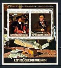 BURUNDI - BF - 1974 - Settimana internazionale della lettera scritta