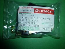 Hitachi 1P Pillar Type w/o Lock Switch 302-447Circular Saw #160