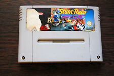 Jeu STUNT RACE FX pour Super Nintendo SNES version PAL