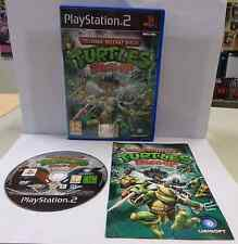 SONY Playstation 2 PS2 PAL ITALIANO TEENAGE MUTANT NINJA TURTLES SMASH-UP Ita IT