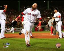 2013 World Series JONNY GOMES celebrating Boston Red Sox WIN LICENSED 8x10 photo
