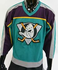 CCM Official Ice Hockey MIGHTY DUCKS NHL Anaheim USA Vintage SIZE S (adults)