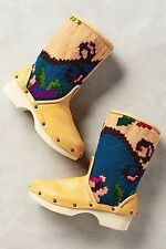 NWT Sz 37 Anthropologie Vintage Carpet Booties Size 7 Boots Spain Western Rare!