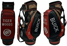 Nike Golf Tiger Woods Limited Buick Tour Staff Cart Bag Red/Black/Tan