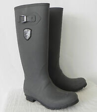 Kamix Rain Boots Light Charcoal  Size 8 Made in Canada
