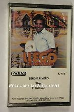 Llego El Haitiano [Vinyl LP] by Sergio Rivero (Audio Cassette Sealed)