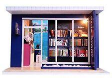 Dollhouse kit set miniature bookstore shop Page Story