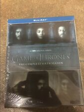 Game of Thrones: Sixth Complete Season 6 (Blu-ray Disc, 2016)  No Digital codes