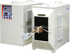 45KW Low-Frequency Dual-Station Induction Heater 1-20KHz