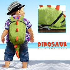 Dinosaur Backpack Dragon Waterproof School Bag Boy Girl Cartoon Kindergarten IY