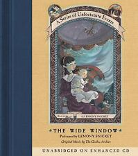 The Wide Window  A Series of Unfortunate Events, Book 3  2003 by Lemo Ex-library