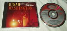 wg DINAH WASHINGTON What a Difference a Day Makes! CD W. Germany Mercury Atomic
