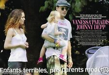 Coupure de presse 2002 (6 pages) Vanessa paradis et Johnny Depp
