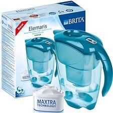 BRITA Elemaris Meter Cool 2.4L Home Water Filter Jug with Maxtra Cartridge, Teal