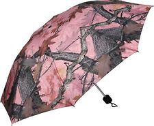 "PINK CAMO CAMOUFLAGE UMBRELLA COMPACT (42"")~FALL TRANSITION PATTERN"