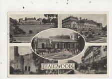 Harewood Yorkshire 1959 Multiview RP Postcard 900a