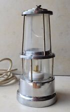Vintage Funny Clever Electric Lamp Made of Retro Gas Lamp Collectible And Smart