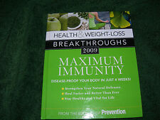 Health & Weight-Loss Breakthroughs (Maximum Immunity) - 2009 - Hardcover