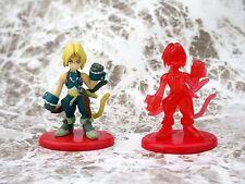 Final Fantasy Coca Cola Promo Figure IX Zidane Color & Crystal set