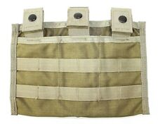 Eagle Industries Triple Mag Pouch Mod 3 Mag MJK Khaki Used MBSS MBAV SF NSW