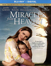 Miracles from Heaven (Blu-ray Disc, 2016) NEW