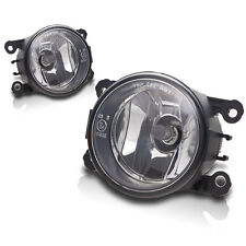 2012-2014 Acura TL Replacements Fog Lights Front Driving Lamps - Clear