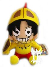ONE PIECE RUFY CAVALIERE PELUCHE pupazzo Luffy Knight Outfit Thriller Bark plush