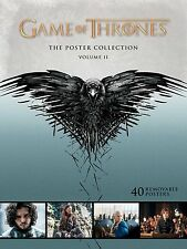 GAME OF THRONES THE POSTER COLLECTION VOL 2 VOLUME II NEW SEALED #ssep16-258