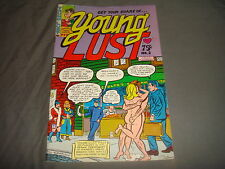 YOUNG LUST #4   Underground Hippie Bill Griffith Colour  Print Mint 1974 VF-