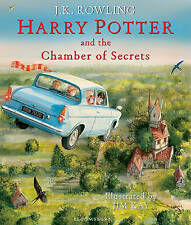 Harry Potter and the Chamber of Secrets: Illustrated Edition by J.K. Rowling NEW
