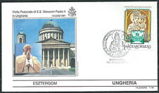 1991 VATICANO VIAGGI DEL PAPA UNGHERIA ESZTERGOM - SV2