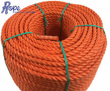 14mm x 50 mts Orange Poly Rope Coils, Polyrope,Polypropylene,Agriculture,Camping