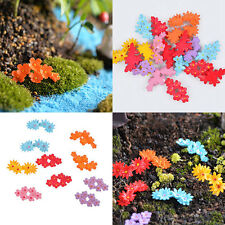 10x Mini Miniature Moss Flower Bonsai Crafts Garden Statues&Lawn Ornaments Decor