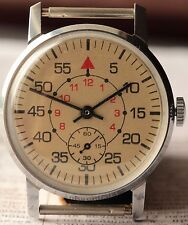 Pobeda ZIM Sturmanskie Military Vintage Soviet Mechanical USSR Watch q /Serviced