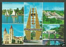 Baguio 5 views Downtown Cathedral Benguet Philippines 70s