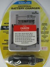CANON NB1L & Similar Universal Charger by Digital Sunlflash - Silver