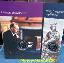 2017 Bunc,£5 House of Windsor & King Canute Five Pounds Set-