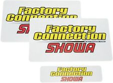 Factory Connection Fork/Shock Decal Set SHOWA FCSHOWADCLSET 4320-0461 98-2600