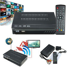 FULL HD HDMI DIGITAL VIDEO RADIO SATELLITE TV RECEIVER TOP BOX RECOMMENDED
