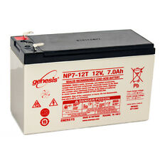 Enersys Genesis 12V 7AH F2 Battery Replacement for Power Patrol SEC1075